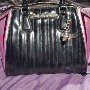 Lux De Ville handbag with custom Pinstriping
